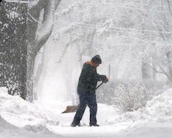 Snowstorm Shovelling