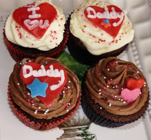 daddy cupcakes