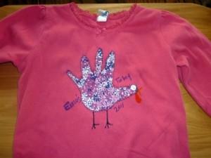 turkey hand